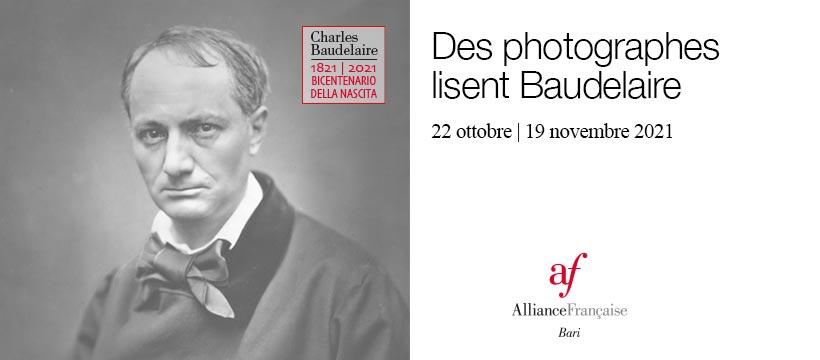 Mostra fotografica: Des photographes lisent Baudelaire