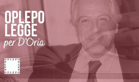 OPLEPO LEGGE per D'Oria